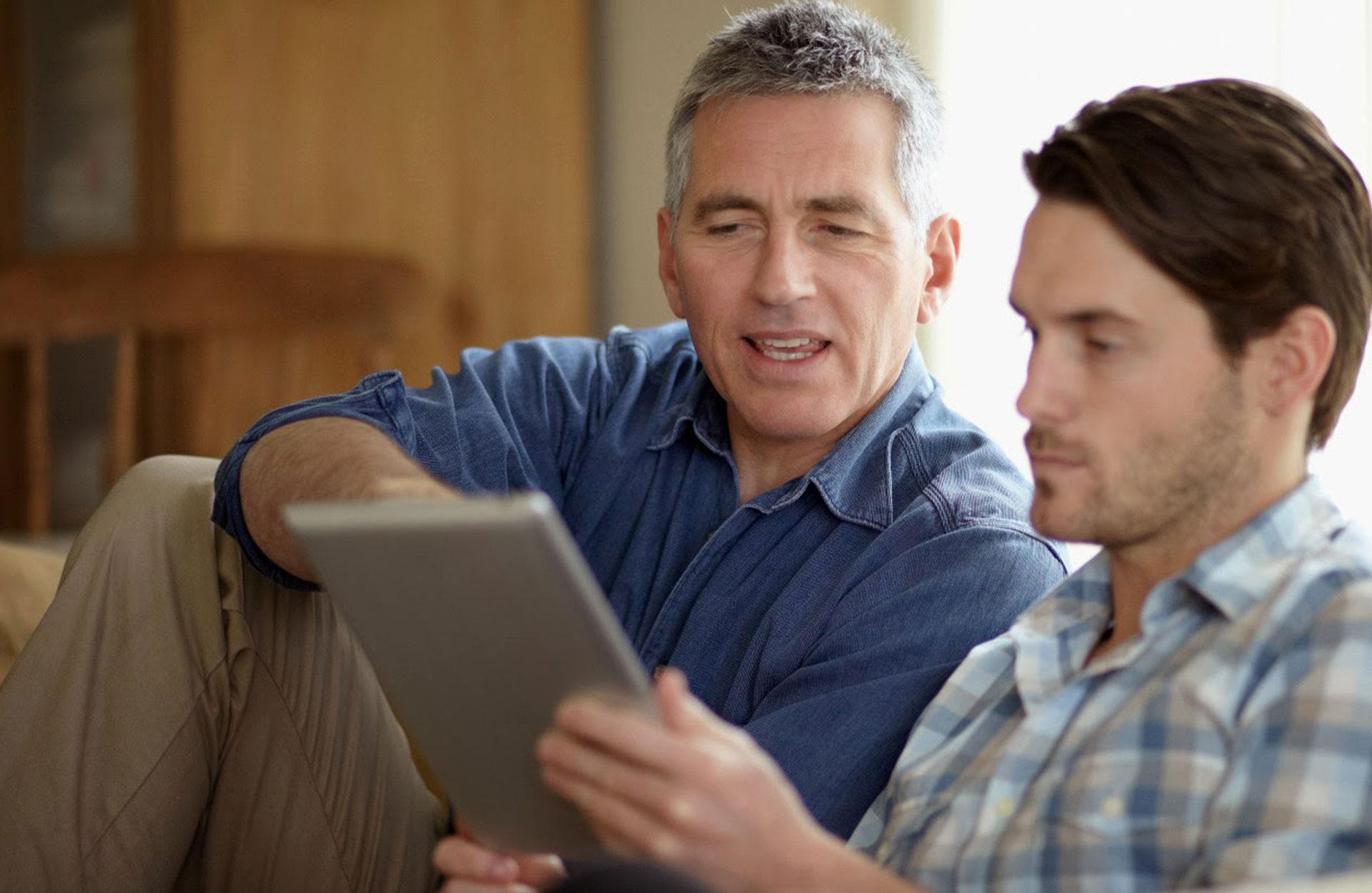 père et fils desktop